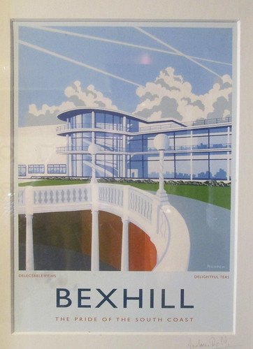 Art Deco Poster of Bexhill-on-Sea