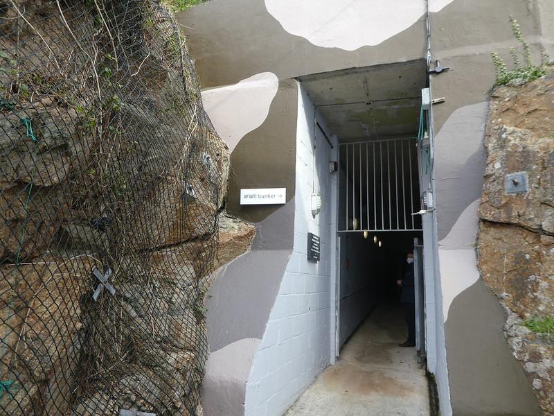 The underground secret bunker at PK Porthcurno