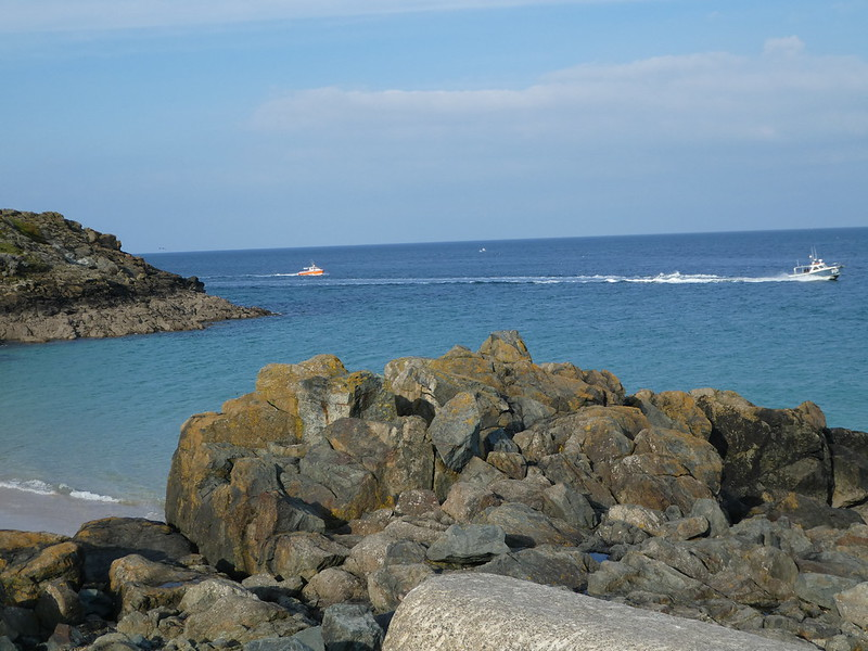 Views along the coast from St. Ives