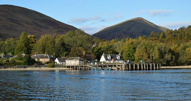 Luss Pier, Loch Lomond