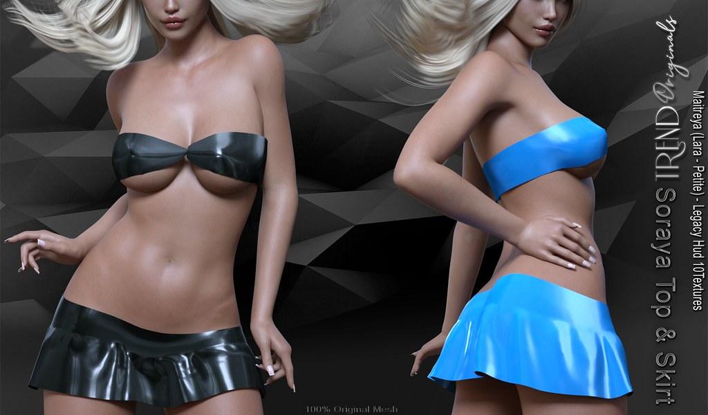TREND Originals - Soraya Top & Skirt November Group Gift!