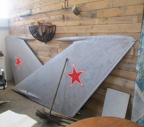 MiG Fighter Tail Planes
