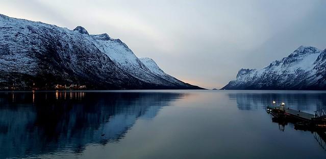 Arctic November afternoon