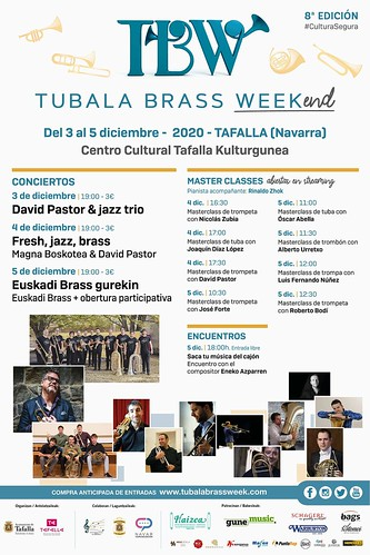 TUBALA BRASS WEEK(end) 2020