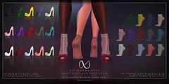 NX-Nardcotix Mandy Pumps & Ankle Socks for UBER