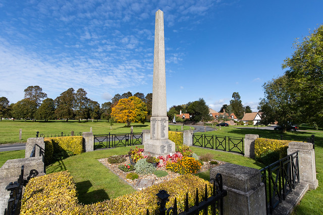 War memorial, Redbourn Common, Hertfordshire