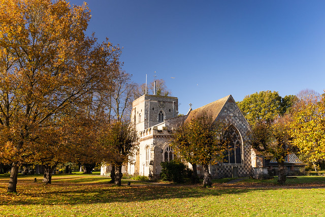St Mary's Church, Redbourn, UK
