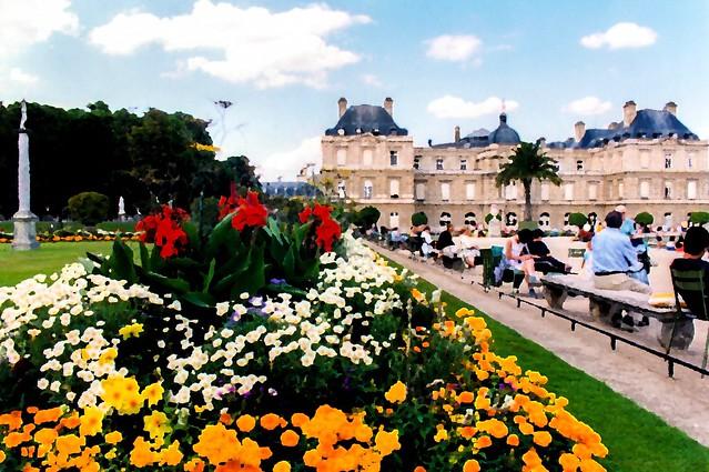 Paris : Jardins du Luxembourg et le Sénat