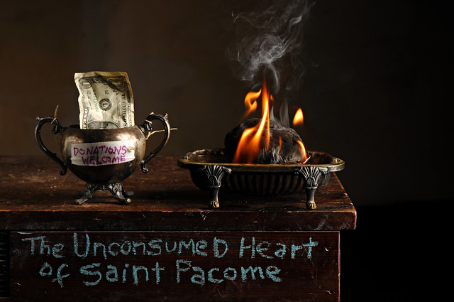 The Unconsumed Heart of Saint Pacome