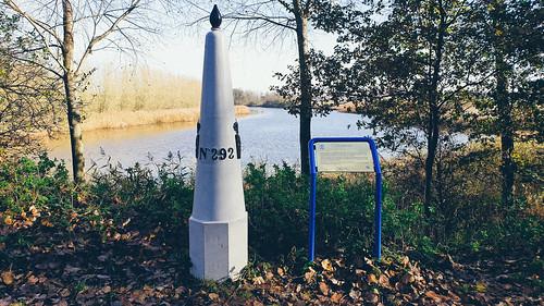 grenspaal 292, Perenboomsgatkreek