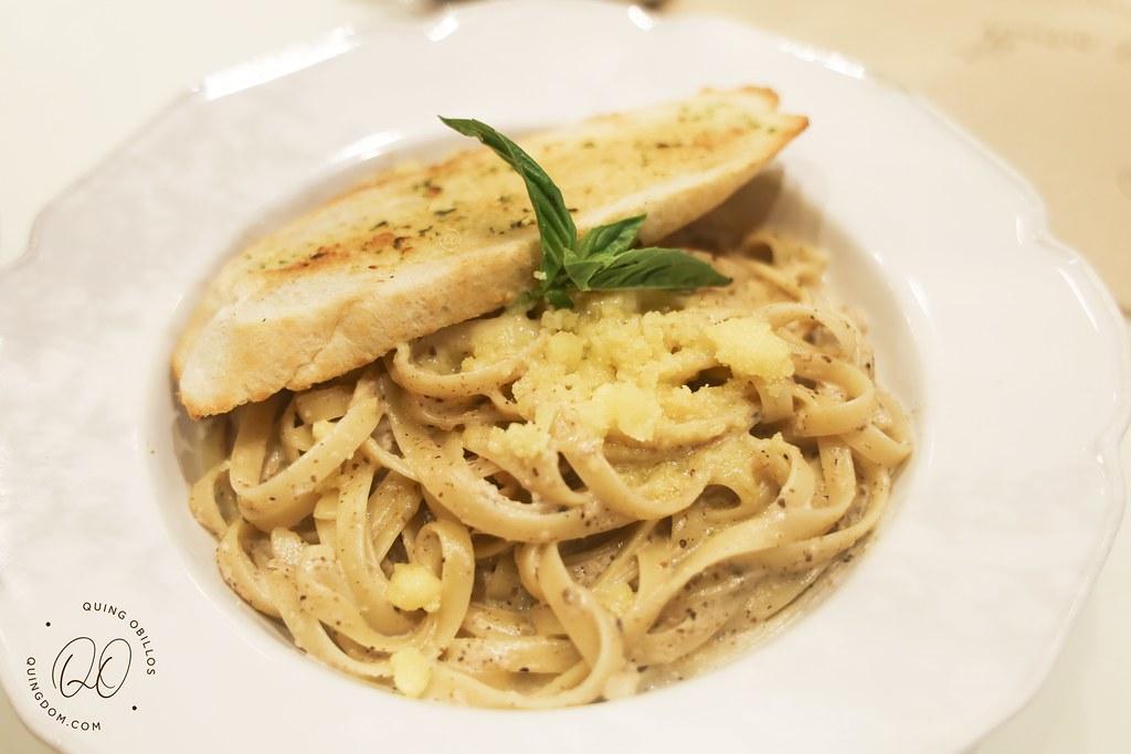 Mushroom and Truffle Pasta