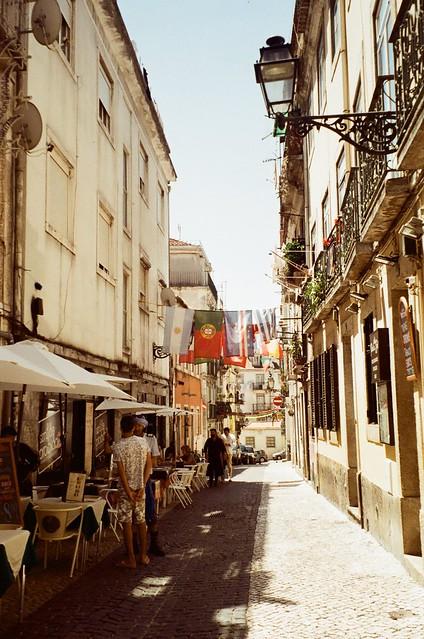Lisbona during covid july 2020