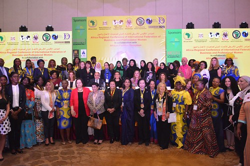 Participants at the Africa Regional Conference of International Federation of Business and Professional Women, Cairo, Egypt, 27 Oct. 2019 (File photo) | by o.ungreatlakesregion