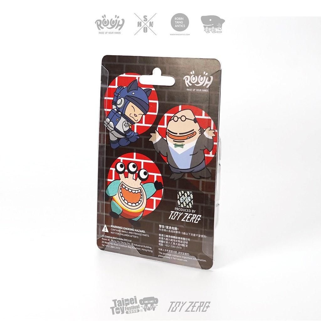 Toyzeroplus「暗黑騎士」套裝組!台灣設計師的可愛三寶再度攜手出戰【TTF2020】