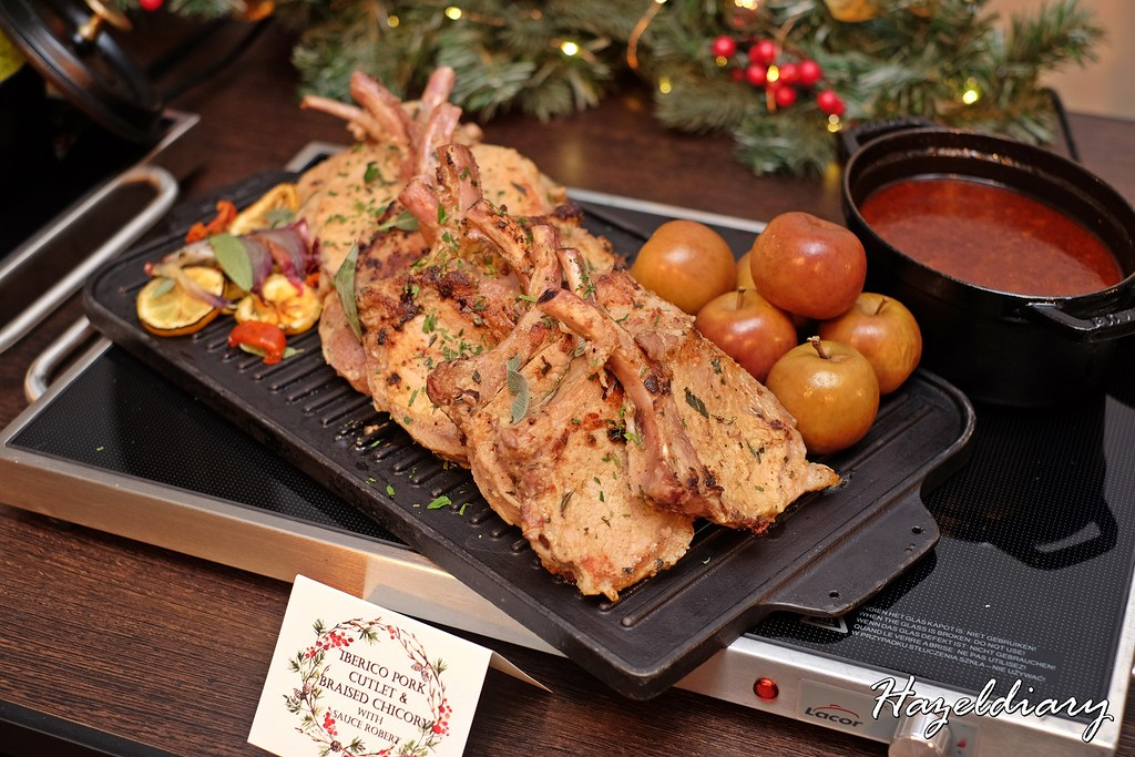 Singapore Marriott Tang Plaza Hotel-Iberico Pork Cutlet