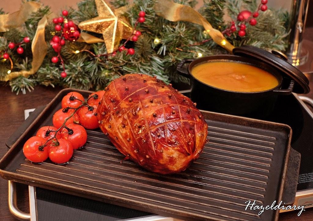 Singapore Marriott Tang Plaza Hotel-Honey & Clove Glazed Ham