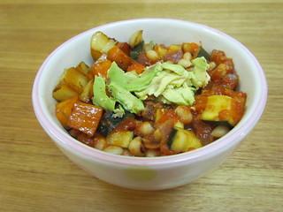 Harissa Citrus Veggies and Potatoes