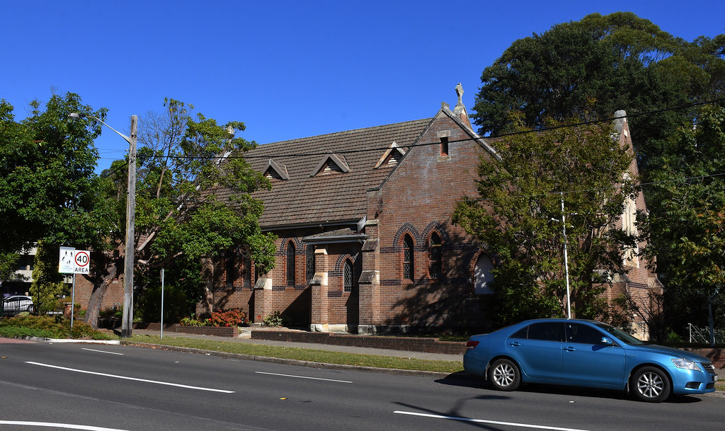 St Peter's Anglican Church, Hornsby, Sydney, NSW.