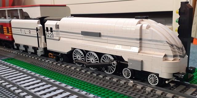 Silver LMS streamlined Coronation class