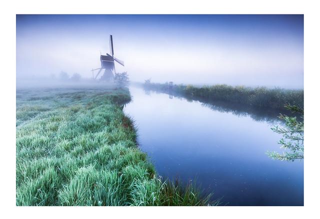 Misty morning / Streefkerk / Alblasserwaard