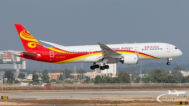 TLV - Hainan Airlines Boeing 787-9 B-207J
