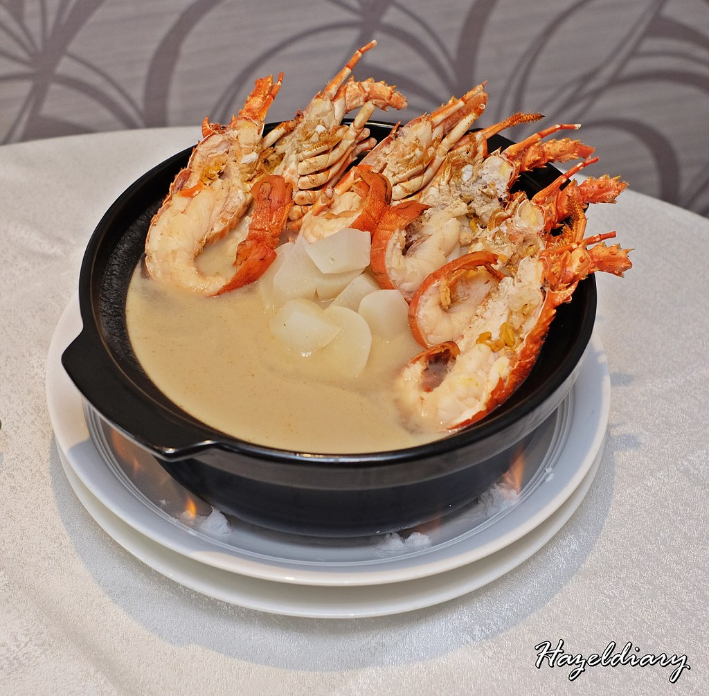 Peach Garden Chinese Restaurant-Lobster with Radish Soup