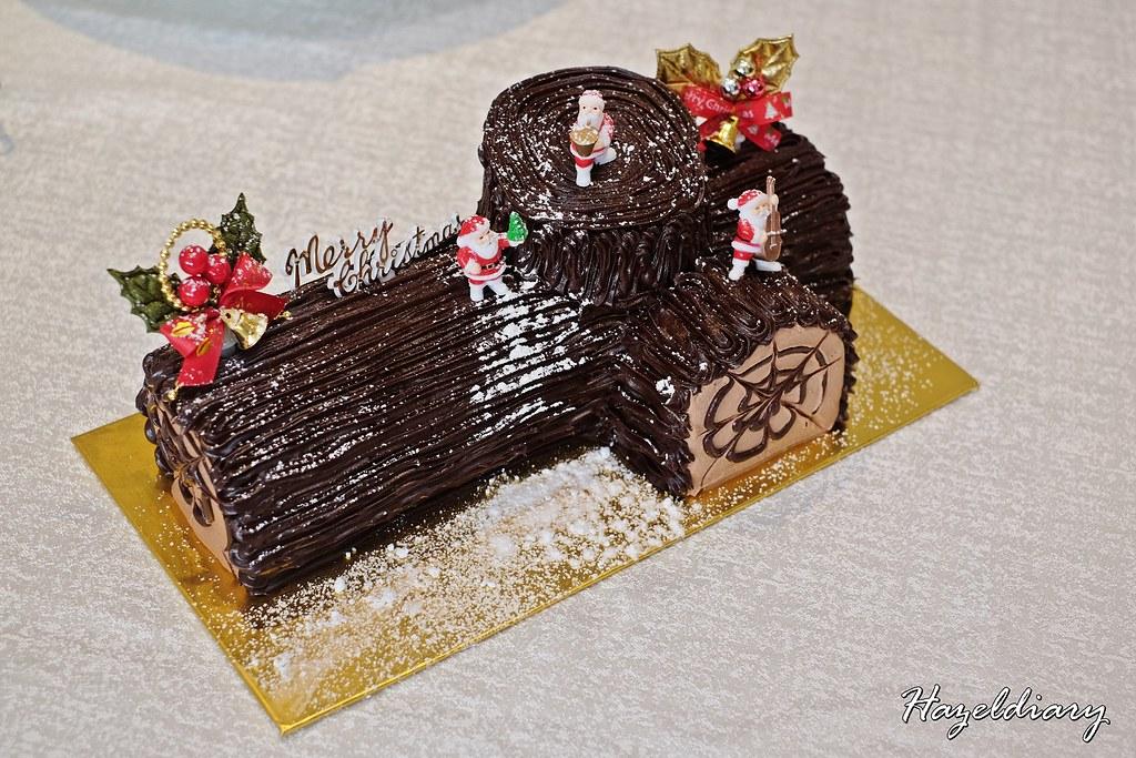Peach Garden Chinese Restaurant-Chocolate Yule Log Cake