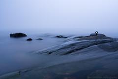 Hypnotic sea view (with heavy fog)