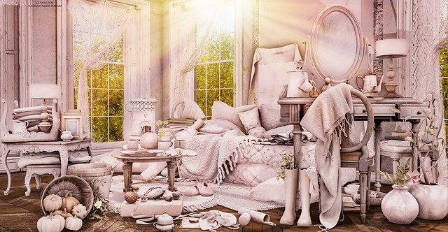 That cozy and messy place!