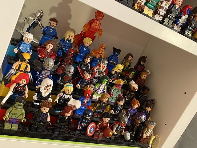 """The favorites"" (Marvel Display)"