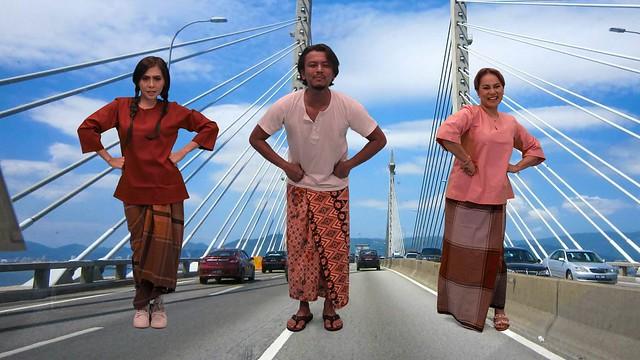 Faizal Tahir, Zizi Kirana Sahut Cabaran Kak Lina Pom Pom EMPAT DARA 2020