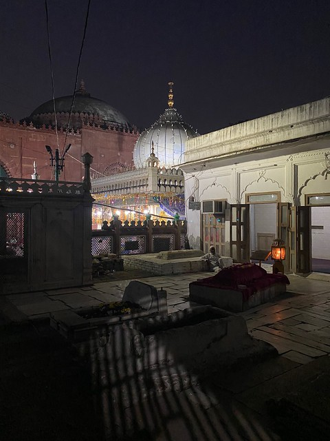 When Night becomes Shrine... Saw this Sight at the Dargah of Delhi's Sufi Saint Hazrat Nizamuddin Auliya