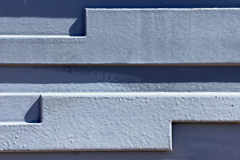 Blue minimalism