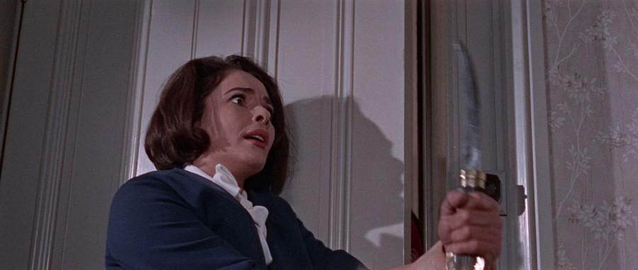 Karin Dor dans Le Masque de Fu Manchu (The Face of Fu Manchu, Don Sharp, 1965)