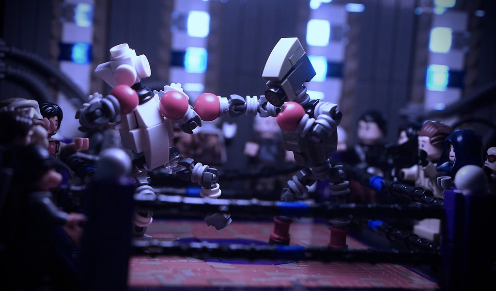 """""""Google House-assistant Underground Boxing Ring 2064"""""""