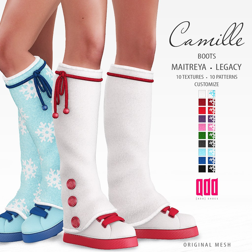 New release – [ADD] Camille Boots
