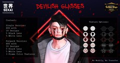 Devilish Glasses Fatpack - Golden Days - Discount 55L$