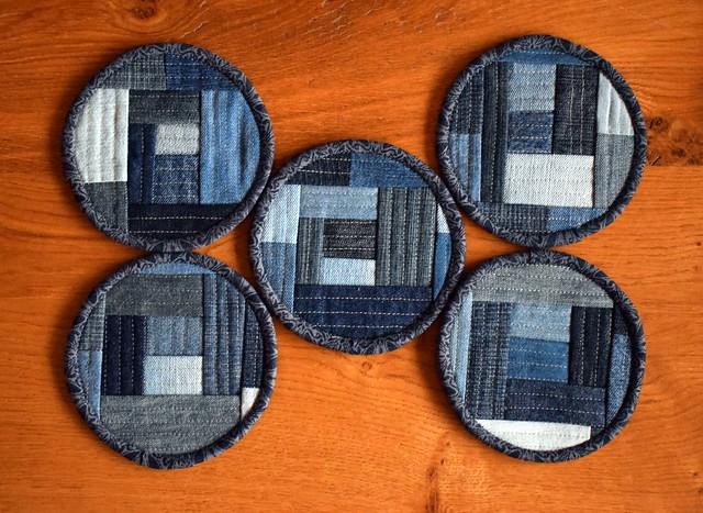 Denim Coasters