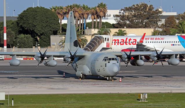 KAF 328 LMML 09-11-2020  Kuwait - Air Force Lockheed KC-130J Hercules CN 382-5751
