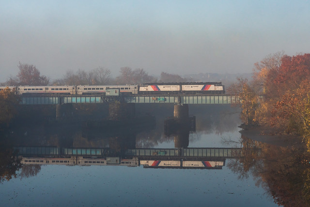 Misty Morning Reflections