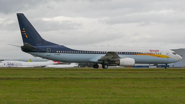 2-VJGC - SpiceJet 739 @ Saint Athan 11/11/20