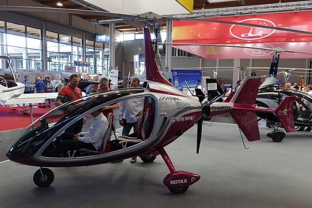 D-MEGJ  -  Niki Rotor Aviation Lightning c/n L0010/2016  -  FDH/EDNY 19/4/18