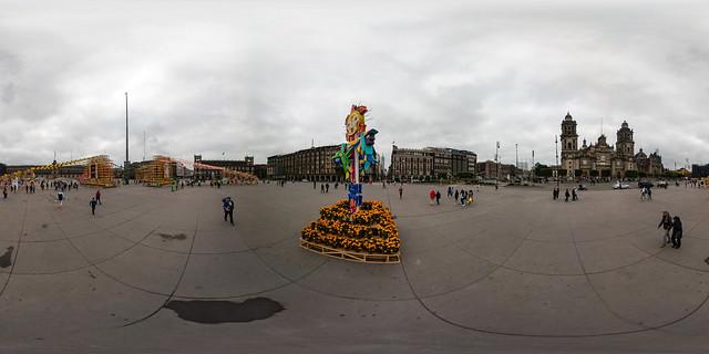 Ofrenda Monumental del Zócalo VI