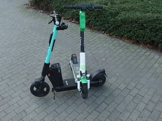 That's how little e-scooters are made
