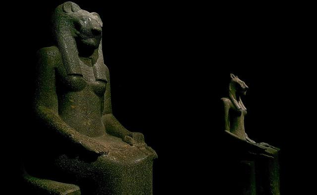 Sekhmet, old Egyptian lioness goddess