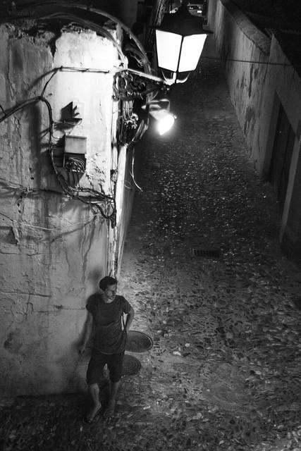 La rue, une nuit