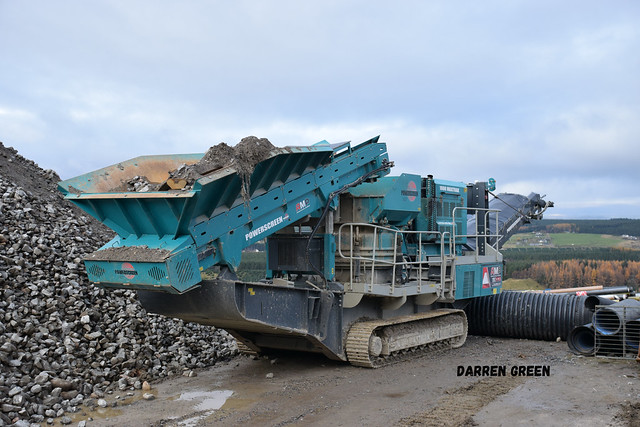 ADVANCED MATERIAL PROCESSING (AMP) MAXTRAX CONE CRUSHER