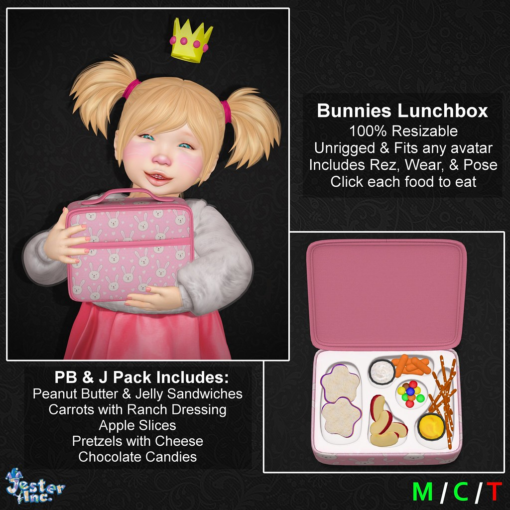 Presenting the new Interactive Lunch Box from Jester Inc.