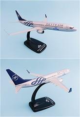 KLM - Royal Dutch Airlines - Skyteam Scale 1-200 model Boeing B737-900 #02 PH-BXO