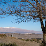 Mt Hermon from Golan Heights